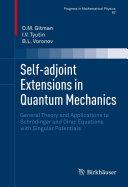 Self adjoint Extensions in Quantum Mechanics