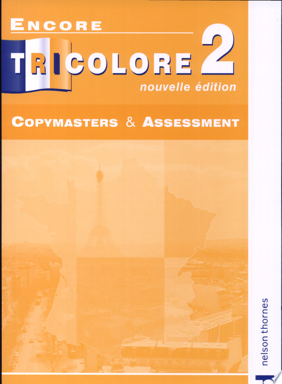 Copymasters and Assessment