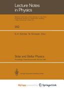 Solar and Stellar Physics