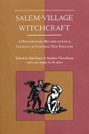 Salem-village Witchcraft