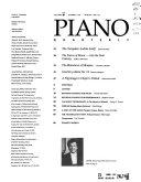 The Piano Quarterly