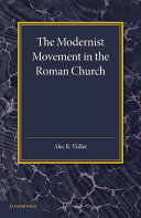 The Modernist Movement in the Roman Church