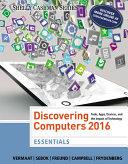 Discovering Computers, Essentials ©2016 [Pdf/ePub] eBook