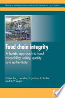 Food Chain Integrity Book
