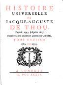 Pdf Histoire Universelle de Jacque Auguste De Chow, 11