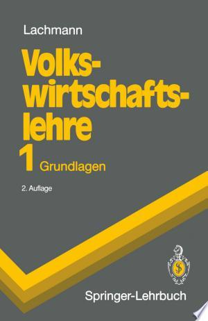 Download Volkswirtschaftslehre 1 Free Books - manybooks-pdf