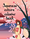 Japanese Culture Coloring Book