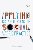 Cover of Applying Research Evidence in Social Work Practice