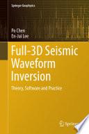 Full 3D Seismic Waveform Inversion