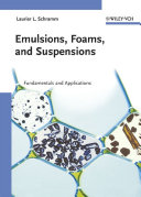 Emulsions  Foams  and Suspensions