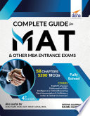 Complete Guide for MAT and other MBA Entrance Exams 4th Edition Book