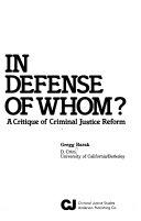 In Defense Of Whom  Book PDF