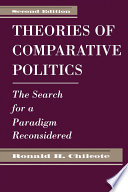 Theories Of Comparative Politics