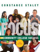 Focus On Community College Success Book