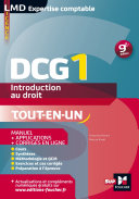 DCG 1 - Introduction au droit - Manuel et applications - 9e édition - Millésime 2015-2016