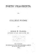 Poetic Fragments