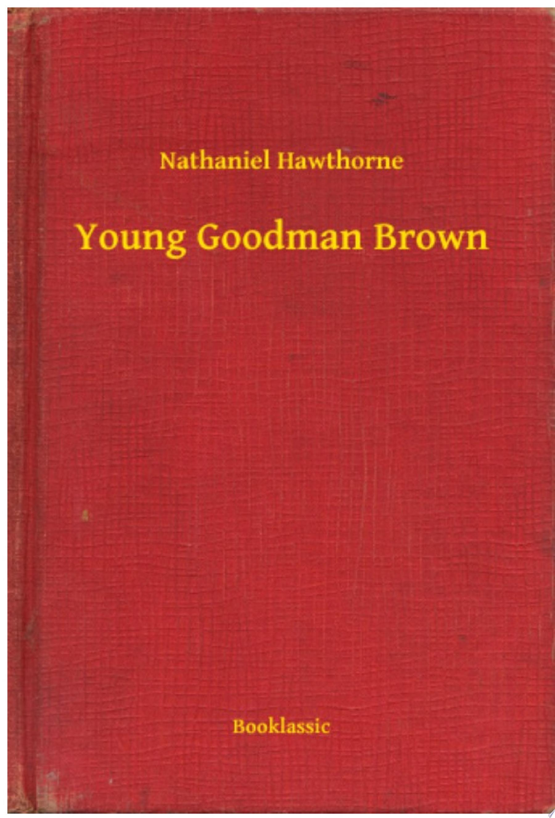 Young Goodman Brown
