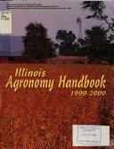 Illinois Agronomy Handbook  1999 2000
