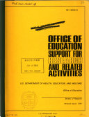 Office of Education Support for Research and Related Activities