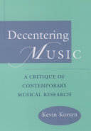 Decentering Music