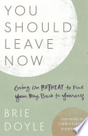 You Should Leave Now Book PDF