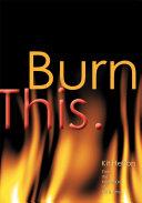 Burn This. [Pdf/ePub] eBook