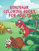 Dinosaur Coloring Books For Adults