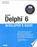 Borland Delphi 6 Developer's Guide
