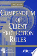Compendium Of Client Protection Rules