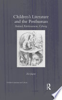 Children s Literature and the Posthuman