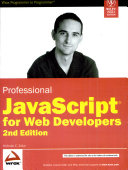 Professional Javascript For Web Developers  2nd Ed