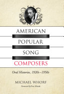 American Popular Song Composers