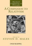 Pdf A Companion to Relativism