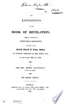 An Exposition Of The Book Of Revelation The Substance Of 44 Discourses