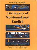 Dictionary of Newfoundland English Pdf/ePub eBook