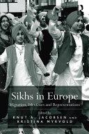 Pdf Sikhs in Europe
