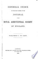 Journal Of The Royal Agricultural Society Of England Book PDF
