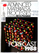 Advanced Materials   Processes Incorporating Metal Progress Book