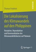 Die Lokalisierung des Klimawandels auf den Philippinen: Rezeption, ...