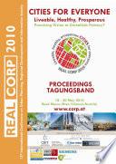 Beiträge Zur 15. Internationalen Konferenz Zu Stadtplanung, Regionalentwicklung und Informationsgesellschaft