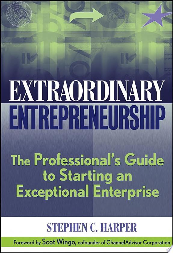 Extraordinary Entrepreneurship