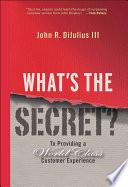 What s the Secret