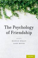 Pdf The Psychology of Friendship