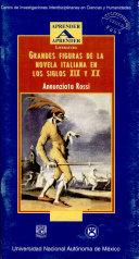 Grandes Figuras de la Novela Italiana en Los Siglos Xix Y Xx.