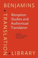 Reception Studies and Audiovisual Translation Pdf/ePub eBook