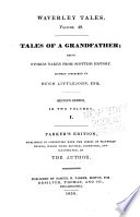 Tales of a grandfather, second series