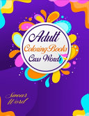 Adult Coloring Book Cuss Words Swear Word