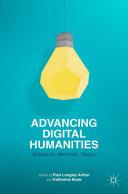 Advancing Digital Humanities Pdf/ePub eBook
