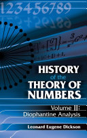 History of the Theory of Numbers  Volume II