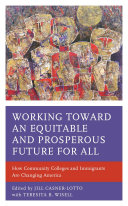 Working toward an Equitable and Prosperous Future for All